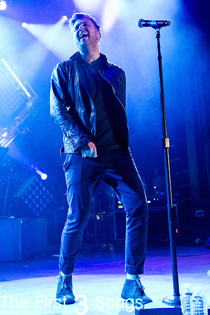 Ryan Tedder of OneRepublic performs at the Lifestyle Communities Pavilion in Columbus, Ohio.