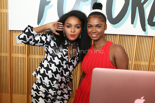 New York Ny Aug 27: Brittany Sky at The Pre-VMA Fem The Future Brunch with Janelle Monae in New York City on August 27, 2016 Credit Walik Goshorn / MediaPunch