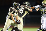Torrance, CA 11/05/10 - Ricky Sato (West # 25) in action during the Peninsula vs West varsity football game played at West Torrance high school.