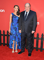 Glenn Fleshler &amp; Guest  at the premiere for &quot;Suburbicon&quot; at the Regency Village Theatre, Westwood. Los Angeles, USA 22 October  2017<br /> Picture: Paul Smith/Featureflash/SilverHub 0208 004 5359 sales@silverhubmedia.com