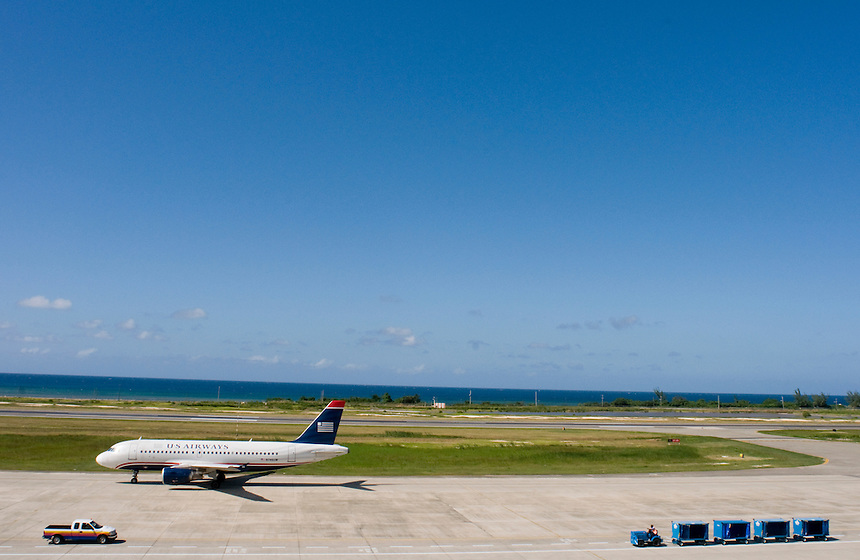 Montego Bay International Airport. Friday, October 17, 2008.