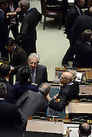 Roma, 20 Aprile 2013.Camera dei Deputati.Votazione del Presidente della Repubblica a camere riunite..Mario Monti