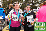 Mags O' Connor 302, Kirstie Nowak 264, who took part in the Kerry's Eye Tralee International Marathon on Sunday 16th March 2014.