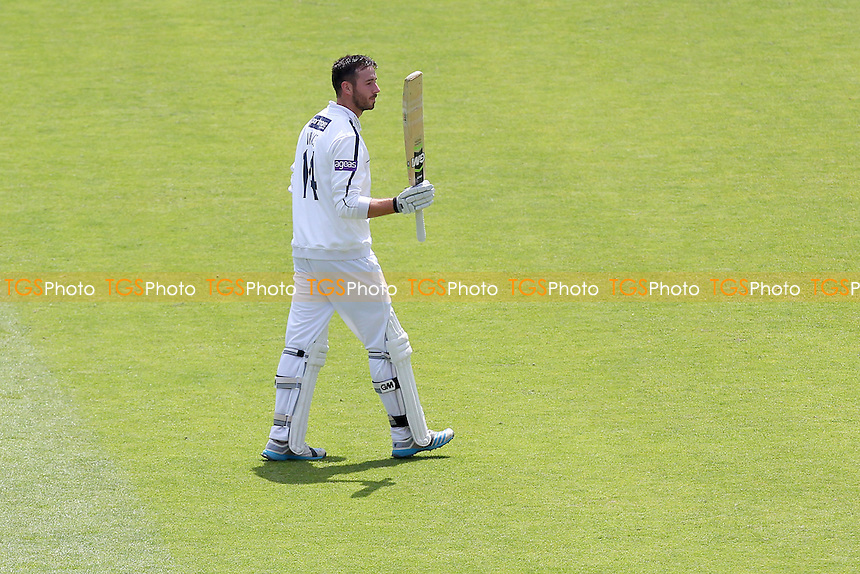 James Vince of Hampshire leaves the field having scored 240 runs for his team - Hampshire CCC vs Essex CCC - LV County Championship Division Two Cricket at the Ageas Bowl, West End, Southampton - 17/06/14 - MANDATORY CREDIT: Gavin Ellis/TGSPHOTO - Self billing applies where appropriate - 0845 094 6026 - contact@tgsphoto.co.uk - NO UNPAID USE