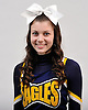 Lauren O'Brien of West Babylon poses for a portrait during the Newsday All-Long Island cheerleading photo shoot at company headquarters on Tuesday, Mar. 15, 2016.