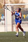 Santa Barbara, CA 02/13/10 - Emilia Norlin (UCSB # 24) in action during the UCSB-Florida game at the 2010 Santa Barbara Shoutout, UCSB defeated Florida 9-8.