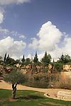 Israel, Galilee. Galilee Garden in Karmiel