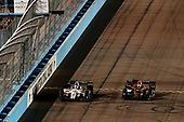 Verizon IndyCar Series<br /> Desert Diamond West Valley Phoenix Grand Prix<br /> Phoenix Raceway, Avondale, AZ USA<br /> Saturday 29 April 2017<br /> Ed Jones, Dale Coyne Racing Honda, James Hinchcliffe, Schmidt Peterson Motorsports Honda<br /> World Copyright: Scott R LePage<br /> LAT Images