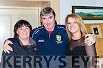 Noreen Roche, Eamon O'Dell and Angela Roche at the Christy Kissane dance in the Manor Inn on Saturday night