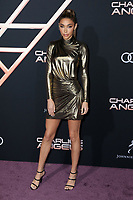 """LOS ANGELES - NOV 11:  Chantel Jeffries at the """"Charlie's Angels"""" Premiere at the Village Theater on November 11, 2019 in Westwood, CA"""