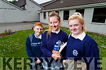 Lianne Donnelly, Aleksandra Polowczyk and Lisa Heaphy, Leaving Certificate students attending Presentation Secondary School, Tralee, pictured after completing English Paper 1 on Wednesday morning last.
