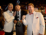 HOLLYWOOD, FL - SEPTEMBER 05: Michael BufferPinklon Thoma and Bob Alexander attends Saturday Fight Night World Heavyweight Champions Fight Night at Hard Rock Live! in the Seminole Hard Rock Hotel & Casino on September 5, 2015 in Hollywood, Florida. ( Photo by Johnny Louis / jlnphotography.com )