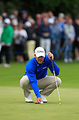 Brooks KOEPKA (USA) during round 2 of the 2015 BMW PGA Championship over the West Course at Wentworth, Virgina Water, London. 22/05/2015<br /> Picture Fran Caffrey, www.golffile.ie: