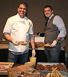 Chef Mark Estee and Nick Meyer during the Big Chefs, Big Gala event at the Grand Sierra Resort in Reno on April 8, 2017.