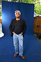 Tariq Ali,author and writer of The Night of The Golden Butterfly and Shadows of the Pomegranate   at The Edinburgh International  Book Festival 2010 .CREDIT Geraint Lewis