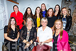 Staff of Stepping Stones Childcare Centre in Lee Drive Tralee enjoying the night out in Bella Bia on Saturday night. <br /> Seated l-r, Ciara and Bernadette Stepney, Mary Maunsell and Sandra Foran.<br /> Back l-r, Cathy Duncan, Grainne O&rsquo;Rourke, Sarah Brosnan, Aisling McMahon, Amy Long and Linda Duggan.