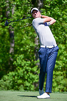 Chris Wood (ENG) watches his tee shot on 13 during round 2 of the Shell Houston Open, Golf Club of Houston, Houston, Texas, USA. 3/31/2017.<br /> Picture: Golffile | Ken Murray<br /> <br /> <br /> All photo usage must carry mandatory copyright credit (&copy; Golffile | Ken Murray)