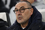 Maurizio Sarri Head coach of Juventus during the UEFA Champions League match at Juventus Stadium, Turin. Picture date: 26th November 2019. Picture credit should read: Jonathan Moscrop/Sportimage