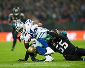 09.11.2014.  London, England.  NFL International Series. Jacksonville Jaguars versus Dallas Cowboys. Cowboys' DeMarco Murray (#29)