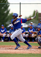 Emmanuel Solis / Texas Rangers 2008 Instructional League..Photo by:  Bill Mitchell/Four Seam Images