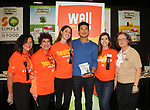 Bold and Beautiful and Saved by the Bell's Mario Lopez poses with ShopRite, a sponsor and who is the keynote speaker at the New Jersey Ultimate Women's Expo on October 29, 2017 at the New Jersey Convention Center, Edison, New Jersey. He did a Q&A, Meet and Greet, photos and posed with Sponsor ShopRite.  (Photo by Sue Coflin/Max Photo)