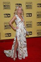 January 15, 2010:  Kristin Chenoweth arrives at the 15th Annual Critics' Choice Movie Awards held at the Palladium in Los Angeles, California. .Photo by Nina Prommer/Milestone Photo