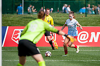 Kansas City, MO - Saturday September 9, 2017: Arin Gilliland during a regular season National Women's Soccer League (NWSL) match between FC Kansas City and the Chicago Red Stars at Children's Mercy Victory Field.