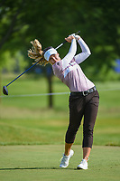 Brooke M. Henderson (CAN) watches her tee shot on 12 during the round 1 of the KPMG Women's PGA Championship, Hazeltine National, Chaska, Minnesota, USA. 6/20/2019.<br /> Picture: Golffile | Ken Murray<br /> <br /> <br /> All photo usage must carry mandatory copyright credit (© Golffile | Ken Murray)