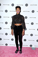 LOS ANGELES - AUG 10:  Daphnique Springs at the Beautycon Festival LA 2019 at the Los Angeles Convention Center on August 10, 2019 in Los Angeles, CA