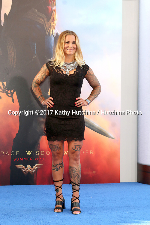"""LOS ANGELES - MAY 25:  Madeleine Vall Beijner at the """"Wonder Woman"""" Los Angeles Premiere at the Pantages Theater on May 25, 2017 in Los Angeles, CA"""