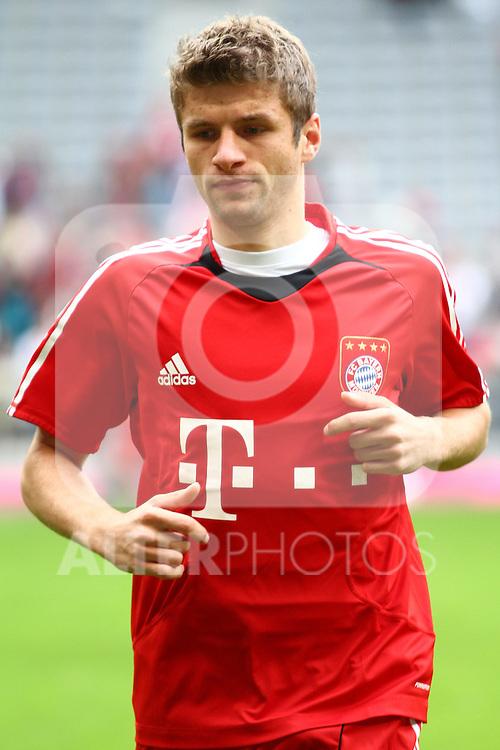 18.09.2010, Allianz Arena, Muenchen, GER, 1.FBL, FC Bayern Muenchen vs 1.FC Koeln, im Bild Thomas Mueller (Bayern #25)  , Foto © nph / Straubmeier