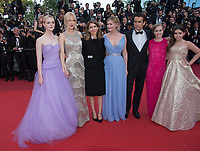 Elle Fanning, Nicole Kidman, Sofia Coppola, Kirsten Dunst, Colin Farrell, Angourie Rice &amp; Addison Riecke at the premiere for &quot;The Beguiled&quot; at the 70th Festival de Cannes, Cannes, France. 24 May 2017<br /> Picture: Paul Smith/Featureflash/SilverHub 0208 004 5359 sales@silverhubmedia.com