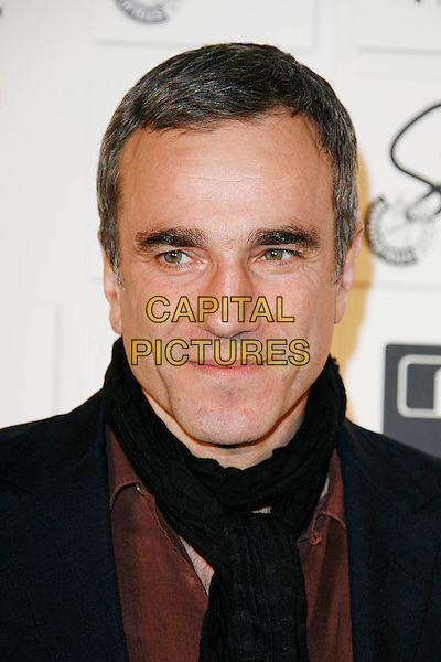 DANIEL DAY-LEWIS .Attending The British Independent Film Awards,The Brewery, London, England, UK, December 6th 2009..arrivals portrait headshot black brown scarf .CAP/DAR.©Darwin/Capital Pictures.