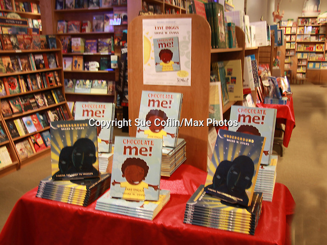 Chocolate Me! at a launch party to celebrate their first picture book together on September 28, 2011 at Books of Wonder, New York City, New York.   (Photo by Sue Coflin/Max Photos)