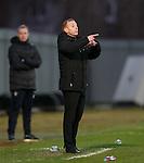Dumbarton manager Stephen Aitken