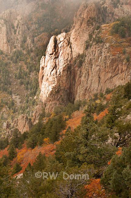 Sandia Peak Rock Face