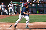 May 22, 2015; Stockton, CA, USA; Loyola Marymount Lions infielder Sean Watkins (2) during the WCC Baseball Championship at Banner Island Ballpark.