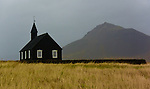 Budir church, a unique little black church at the Snaefellsnes peninsula on the west coast of Iceland. (Bob Gathany)