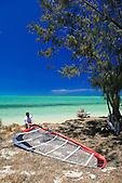 Funboarder sur l'îlot Konduyo, Ouano