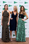 Nieves Alvarez, Judit Masco and Ariadne Artiles attend the 'Enfasis Black' swimsuit collection launch at the Wellington Hotel in Madrid, Spain. April 20, 2017. (ALTERPHOTOS/Rodrigo Jimenez)
