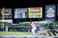 7 March 2009: #12 Ramon Vasquez of Puerto Rico hit the ball during the 2009 World Baseball Classic Pool D match at Hiram Bithorn Stadium in San Juan, Puerto Rico. Puerto Rico wins 7-0 over Panama.
