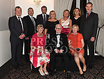 Fr Jim Dunleavy with members of his family at the Dominican Ball in the Westcourt hotel. Photo:Colin Bell/pressphotos.ie