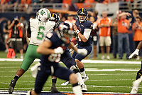 SAN ANTONIO, TX - NOVEMBER 18, 2017: The University of Texas at San Antonio Roadrunners defeat the Marshall University Thundering Herd 9-7 at the Alamodome. (Photo by Jeff Huehn)