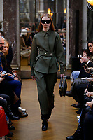Victoria Beckham <br /> New York Fashion Week <br /> FW18 <br /> <br /> New York Fashion Week,  New York, USA in February 2018.<br /> CAP/GOL<br /> &copy;GOL/Capital Pictures