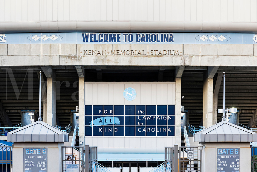 University of North Carolina football stadium, Chapel Hill, North Carolina, USA.