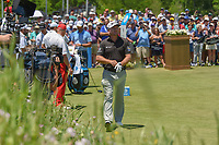 Graeme McDowell (NIR) looks over his tee shot on 1 during round 1 of the AT&T Byron Nelson, Trinity Forest Golf Club, at Dallas, Texas, USA. 5/17/2018.<br /> Picture: Golffile | Ken Murray<br /> <br /> <br /> All photo usage must carry mandatory copyright credit (© Golffile | Ken Murray)