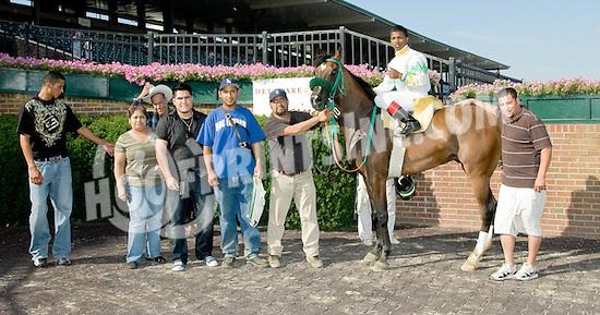 R Mercedez winning at Delaware Park on 7/13/11