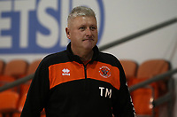 Blackpool's Manager Terry McPhillips<br /> <br /> Photographer Rachel Holborn/CameraSport<br /> <br /> The EFL Checkatrade Trophy Group C - Blackpool v Accrington Stanley - Tuesday 13th November 2018 - Bloomfield Road - Blackpool<br />  <br /> World Copyright © 2018 CameraSport. All rights reserved. 43 Linden Ave. Countesthorpe. Leicester. England. LE8 5PG - Tel: +44 (0) 116 277 4147 - admin@camerasport.com - www.camerasport.com
