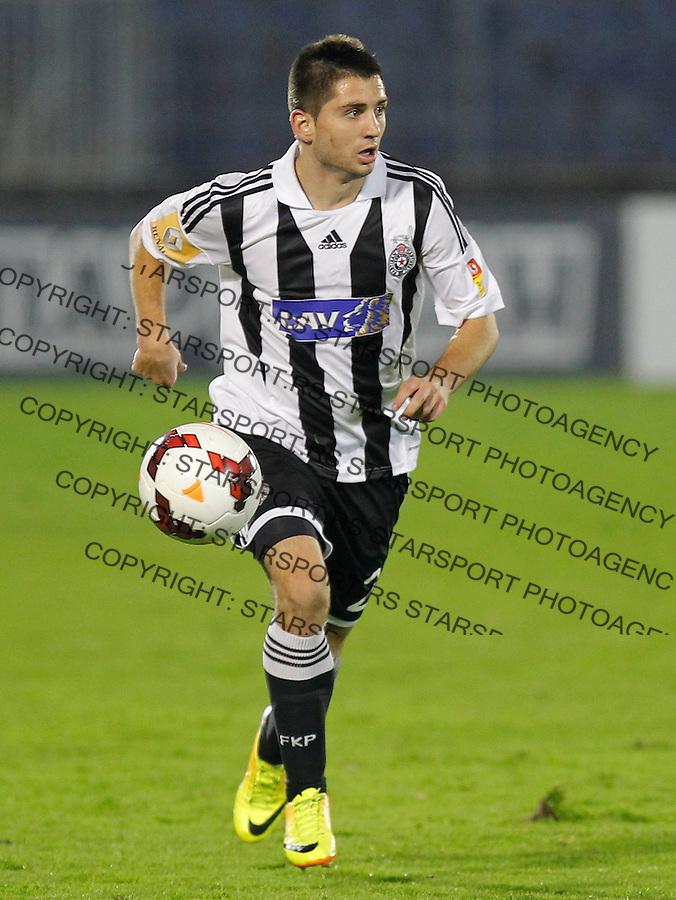 Fudbal Super liga season 2013-2014<br /> Partizan v Javor (Ivanjica)<br /> Marko Zivkovic<br /> Beograd, 05.10.2013.<br /> foto: Srdjan Stevanovic/Starsportphoto &copy;