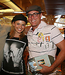 Guiding Light's Mandy Bruno - Robert Bogue - Final Meet and Greet - Day 5 - Wednesday August 4, 2010 - So Long Springfield at Sea on the Carnival's Glory (Photos by Sue Coflin/Max Photos)
